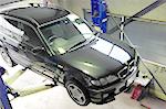BMWのマフラー制作、整備