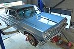 ワンオフチタンマフラー製作シボレー・インパラ (Chevrolet Impala)