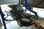 Mercedes-Benzメルセデスベンツ ワンオフチタンマフラー製作