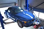 ワンオフチタンマフラー製作BMW f34