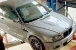 BMW E46 ワンオフマフラー制作取り付け作業風景